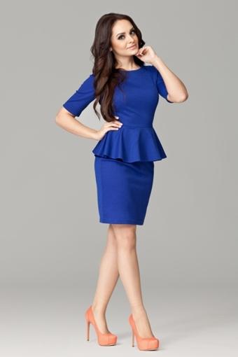 Фото платьев синего цвета